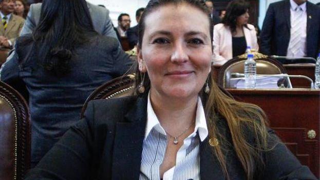 """Polimnia Romana fue coordinadora de """"Las Gacelas"""" de López Obrador."""