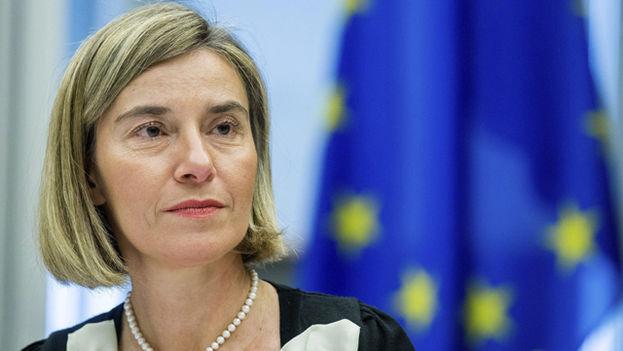 La alta representante de la Unión Europea para la Política Exterior, Federica Mogherini. (EFE)