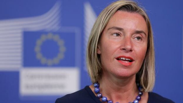 La alta representante comunitaria para la Política Exterior, Federica Mogherini. (EFE)