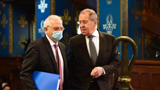 Las declaraciones de Lavrov se producen después de la controvertida visita la semana pasada a Moscú del alto representante para la Política Exterior de la UE, Josep Borrell. (EFE)