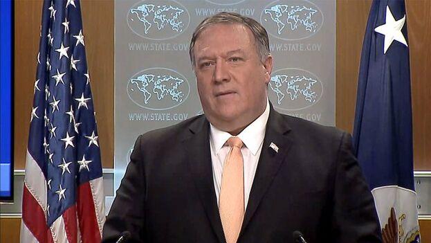 Pompeo afirmó ante la prensa este lunes que los países verdaderamente imperialistas son Rusia y Cuba, por su injerencia en Venezuela.
