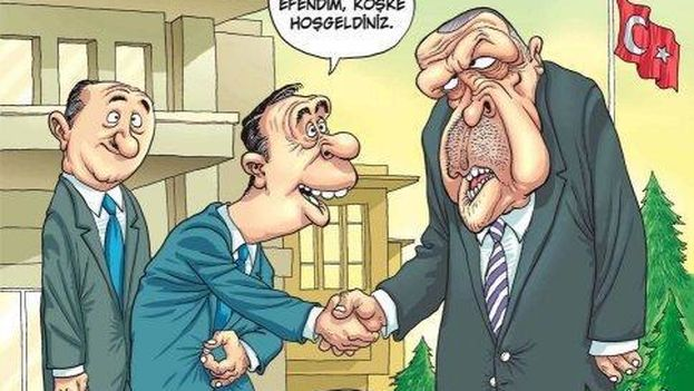 Portada de Penguen con la polémica caricatura de Erdogan