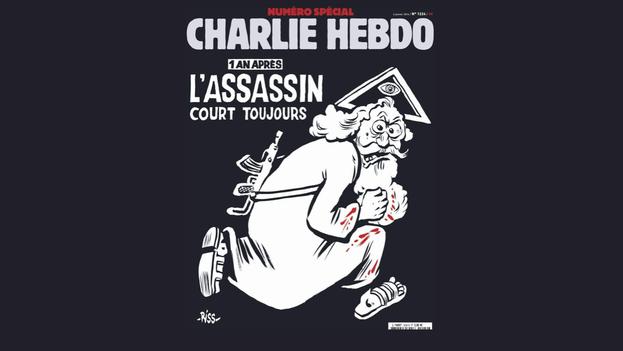 Portada del número especial de 'Charlie Hebdo'