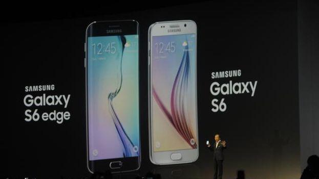 Presentación de Galaxy S6 y Galaxy S6 en el Mobile World Congress de Barcelona 2015