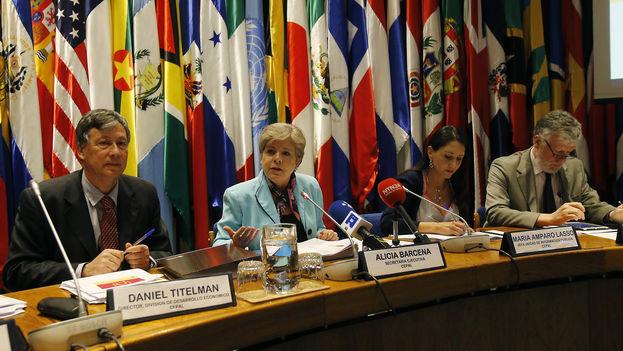 Presentación del balance preliminar de las economías de la región presentado este jueves en Santiago de Chile. (Cepal)