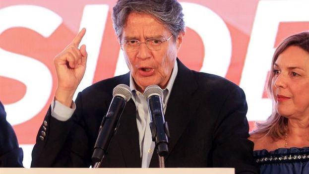 El candidato a la Presidencia de Ecuador, Guillermo Lasso. (EFE/Archivo)