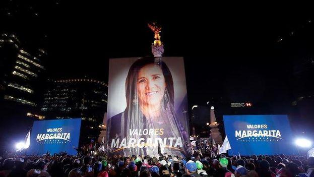La candidata independiente a la Presidencia de México, Margarita Zavala. (EFE)