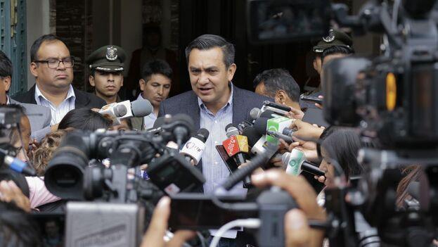 El ministro interino de la Presidencia, Yerko Núñez, defendió la decisión del Gobierno de Jeanine Áñez de declarar personas no gratas a varios diplomáticos. (Presidencia de Bolivia)