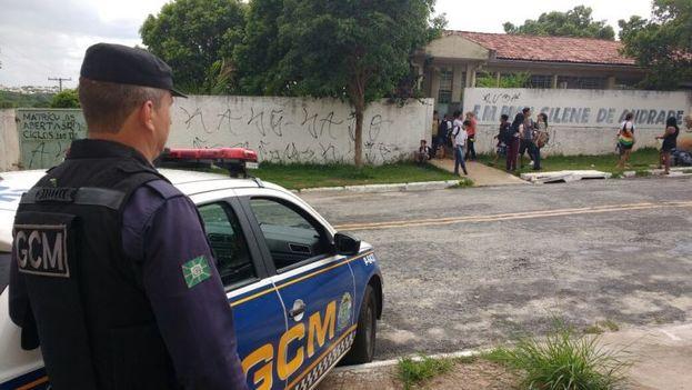 Prisión de Goiania donde la violencia se cobró este día 1 de enero la vida de al menos nueve personas. (Guarda Civil Metropolitana)