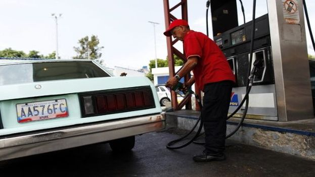 Problemas en el suministro de combustible en Venezuela. (EFE)