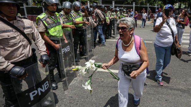 Protestas Venezuela (EFE)