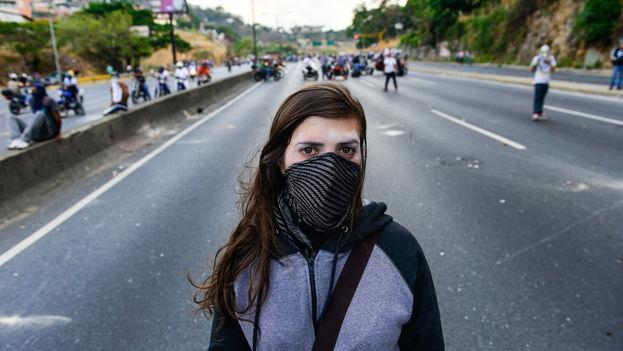 Protestas en las calles de Venezuela (Carlos Becerra/AI)