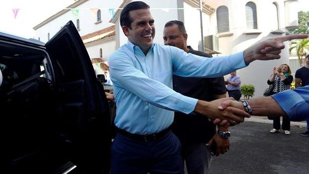 El gobernador de Puerto Rico, Ricardo Rosselló. (EFE)