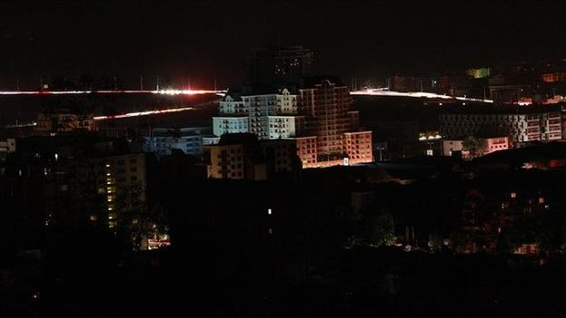 La isla de Puerto Rico sufre un apagón masivo. (EFE)
