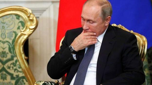 """Putin señaló que EE UU lleva años ignorando las iniciativas rusas sobre el desarme y """"todo el tiempo busca pretextos para desmontar el sistema de seguridad existente"""". (EFE)"""