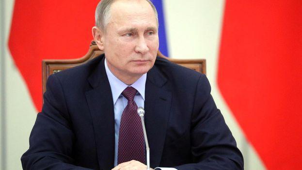 Vladímir Putin, presidente de la Federación Rusa. (@PutinRF_Eng)