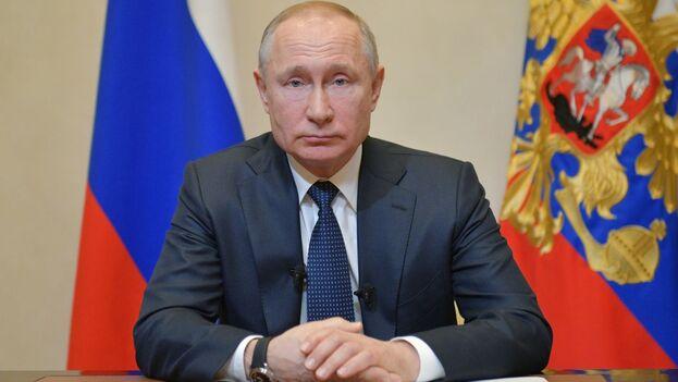 Putin admitió que la fecha de la votación dependerá de la evolución de la situación epidemiológica. (EFE)