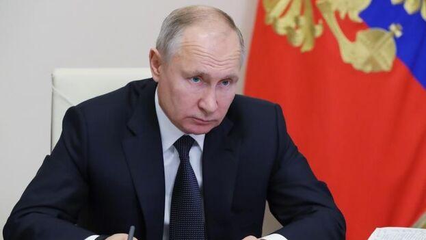 Putin presidió este miércoles la primera reunión del nuevo soviet constitucional, el Consejo de Estado. (EFE)
