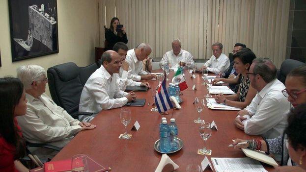 Quinta reunión del mecanismo permanente de información y consultas políticas entre las Cancillerías de México y Cuba. (Minrex)