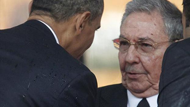 Raúl Castro Y Barack Obama