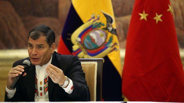 Rafael Correa. (Presidencia de la República del Ecuador)
