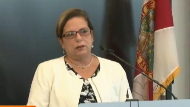 Ramona Matos es una de las profesionales cubanas que este viernes ha demandado a la Organización Panamericana de la Salud. (Captura)