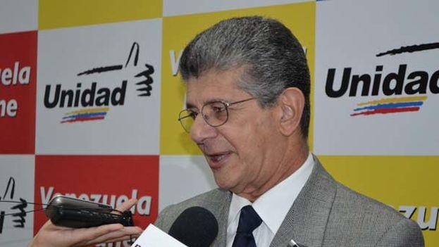 Henry Ramos Allup, nuevo presidente de la Asamblea Nacional de Venezuela. (Noticas 24)