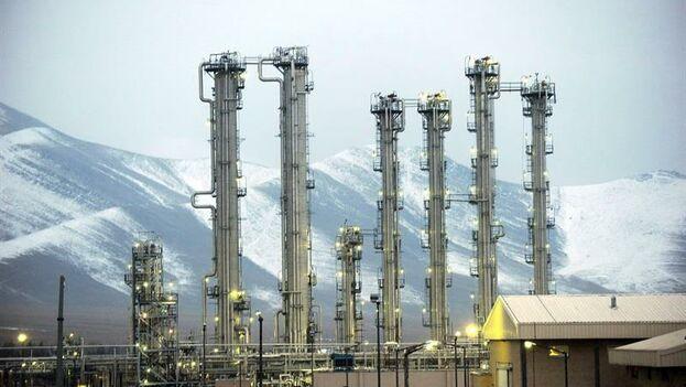 Reactor de agua pesada de la ciudad de Arak  (Irán) en una imagen de archivo. (EFE)