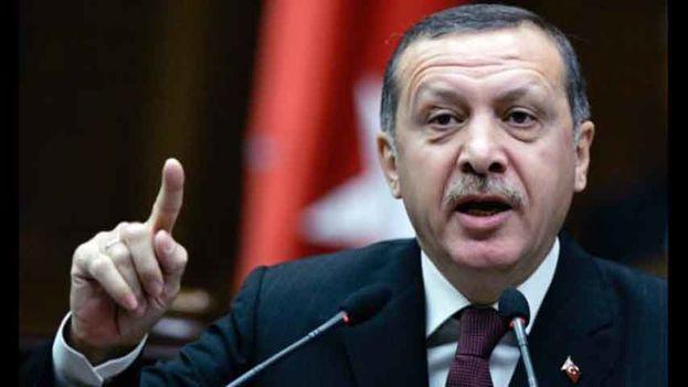 El presidente turco Recep Tayyip Erdogan aseguró que su país planea abrir una embajada en Jerusalén Este como capital del Estado palestino. (EFE)