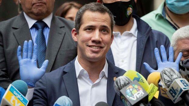 El juez se basa en que Reino UnIdo ha reconocido a Guaidó como presidente interino. (EFE)