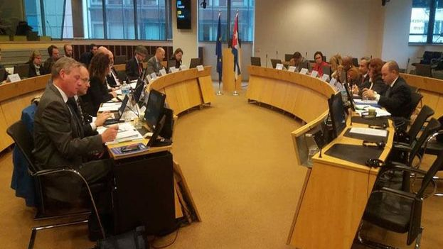 Representantes de los Estados miembros de la UE asistieron a la reunión como observadores. (Prensa Latina)