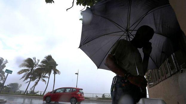 Irma pasará probablemente por el norte de la República Dominicana y Haití en dirección a Bahamas y Cuba. (EFE)