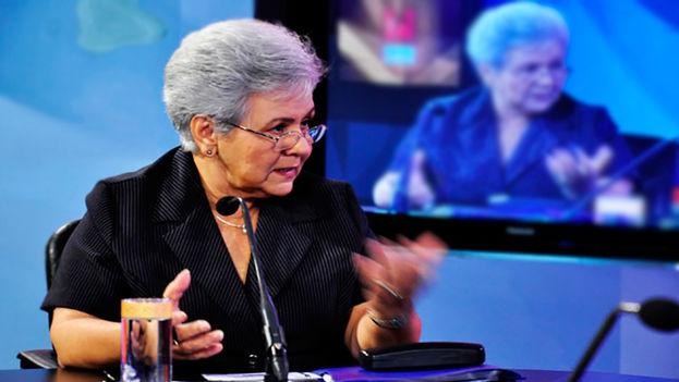 La contralora general de la República, Gladys Bejerano Portela. (Redes)