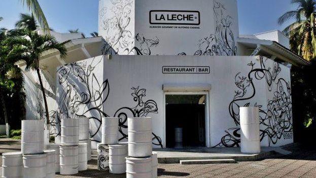 Restaurante La Leche en Jalisco, México. (Twitter)