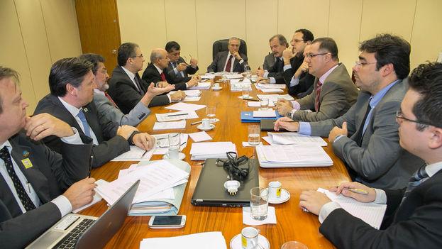 Reunión del equipo de Gobierno de Michel Temer. (Flickr)