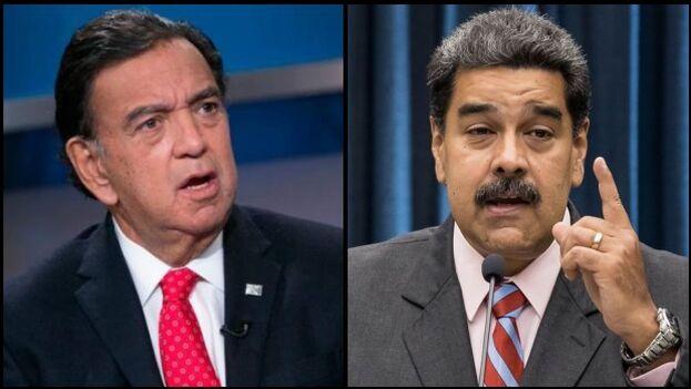 El diplomático estadounidense Bill Richardson llegó a Caracas el lunes y, tras conversar por teléfono el miércoles con Nicolás Maduro. (Collage)