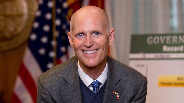 Rick Scott, reelegido gobernador de Florida (CC)