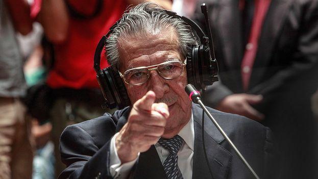 Ríos Montt durante el juicio en su contra, en marzo de 2013. (CC/Elena Hermosa)