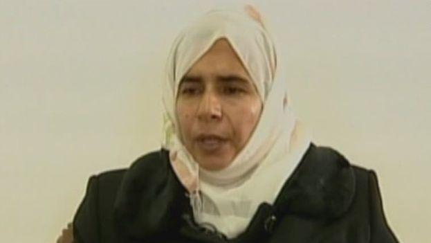 Al Rishawi durante su confesión en la televisión jordana
