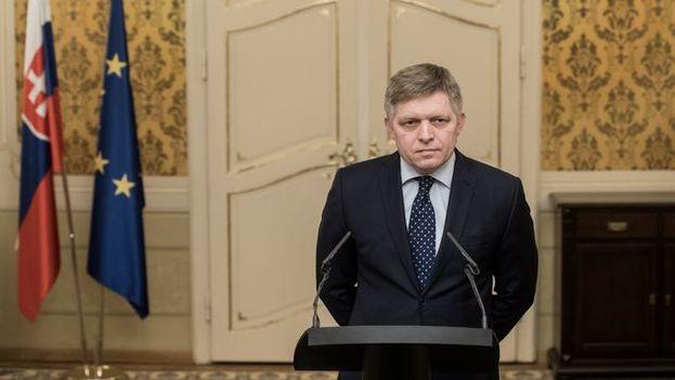 La dimisión de Robert Fico se produce para salvar la actual coalición tripartita de Gobierno. (EFE)