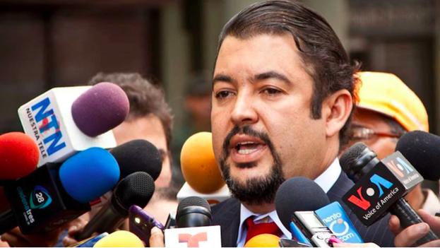 Roberto Marrero fue detenido por el chavismo el jueves 21 de marzo tras ser acusado de terrorismo. (Facebook: Roberto Marrero)