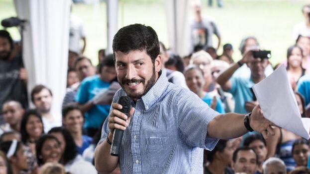 Roberto Patiño pertenece al partido de Capriles, Primero Justicia. (Twitter)