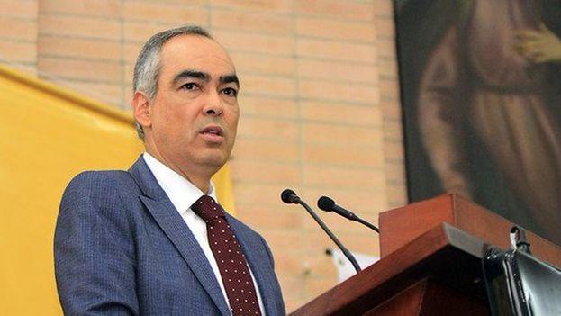 Rodrigo Rivera confirmó que la delegación del ELN ya está en La Habana. (@ComisionadoPaz)