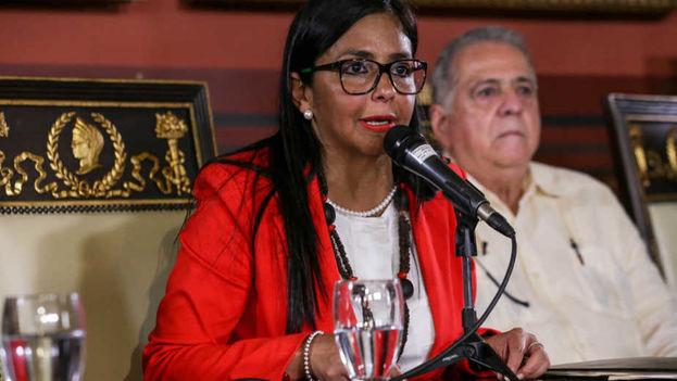 Delcy Rodríguez, presidenta de la Asamblea Nacional Constituyente. (EFE)