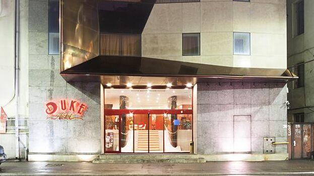 Hotel Duke Romana, de Bucarest, de donde cayó el juez iraní Gholamreza Mansouri. (Booking)