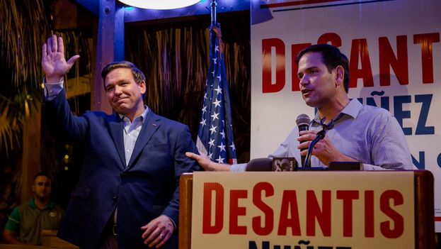 Ron DeSantis ganó la gobernación de Florida al derrotar al afroamericano Andrew Gillum.