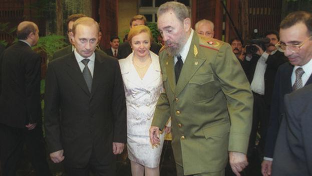 Putin en Cuba