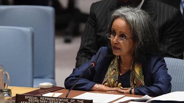 Sahlework era hasta ahora representante especial del secretario general de la ONU, António Guterres. (@SahleWorkZewde)