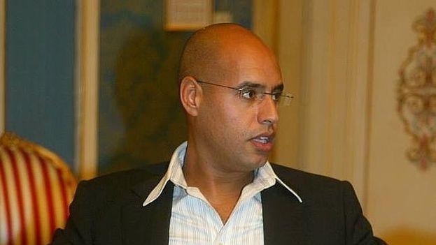 Saif al Islam Gadafi ha sido condenado por su vinculación con la represión que siguió al levantamiento popular armado en febrero de 2011