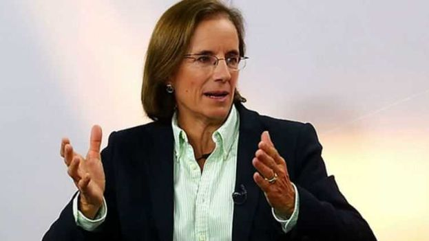 Salud Hernández-Mora durante una intervención televisiva. (Captura de vídeo)